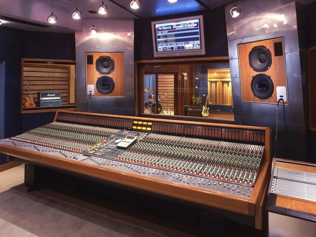 Картинки студии звука