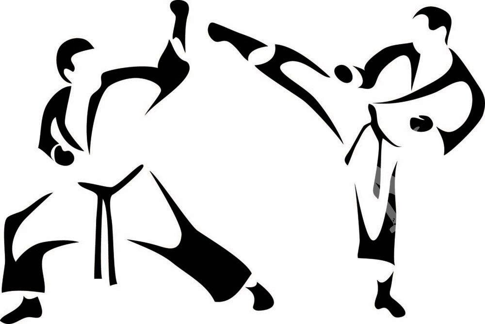 спортивные открытки тхэквондо