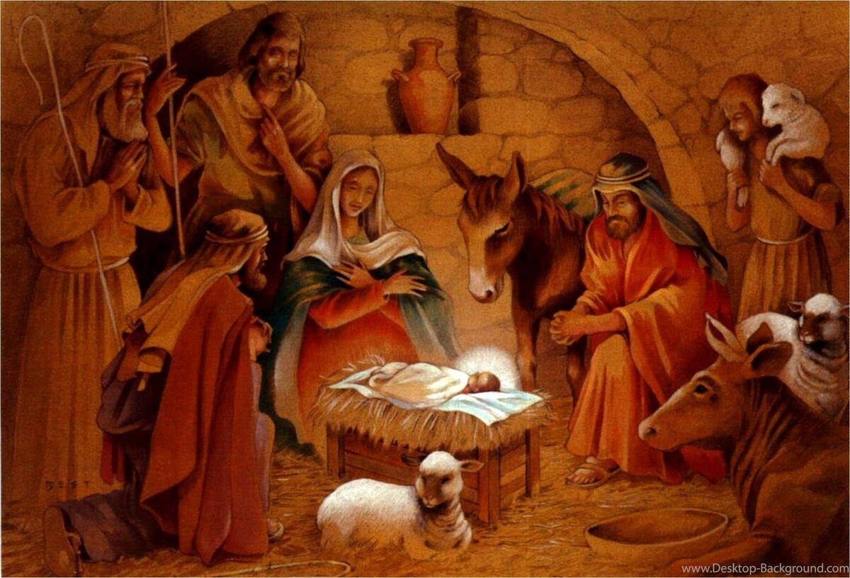 Рождество христа в картинках
