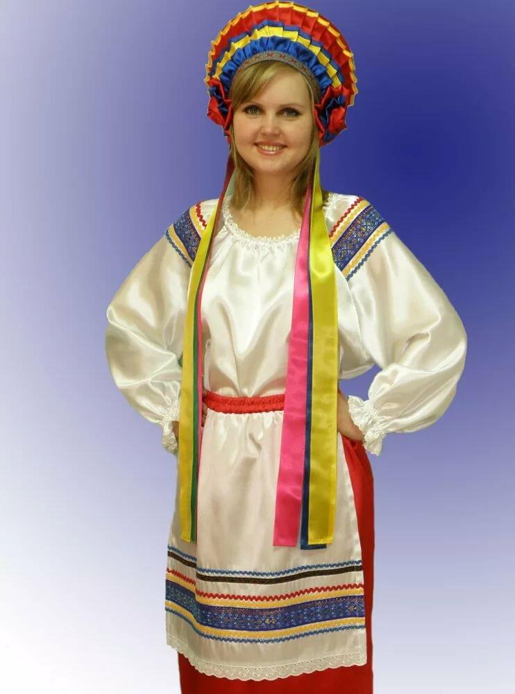 менделеева фото украинского национального костюма стали исключением