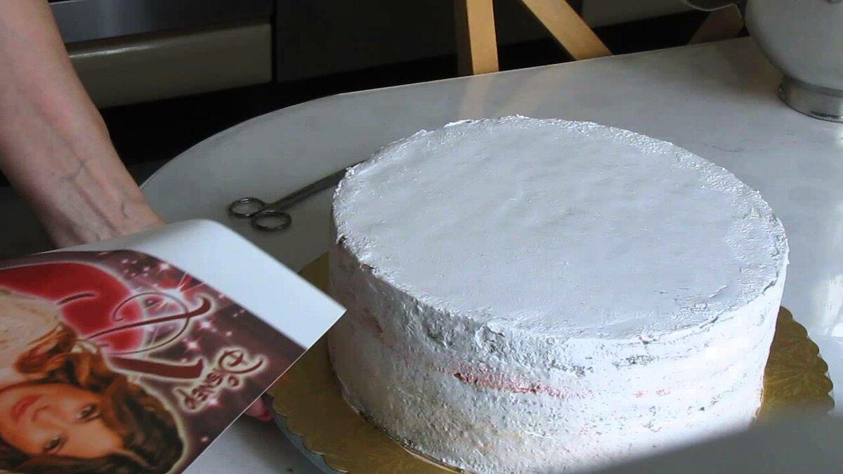 самом как делают торт с фотографией скотч запоминается только