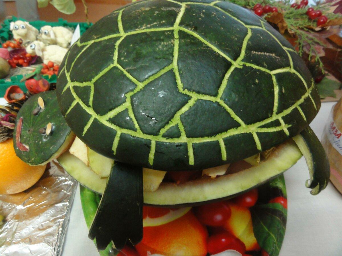 Осенняя поделка из овощей и фруктов своими руками предлагаем познакомиться