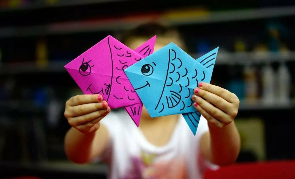 Оригами в картинках детские