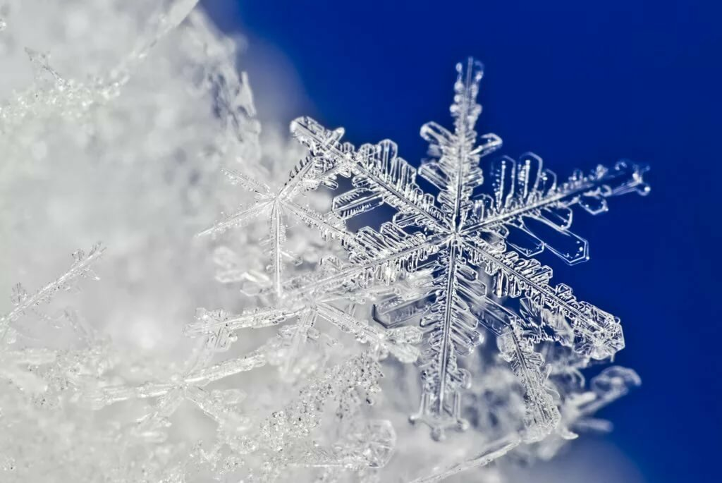 простое снежинки открытки фото тебе просто