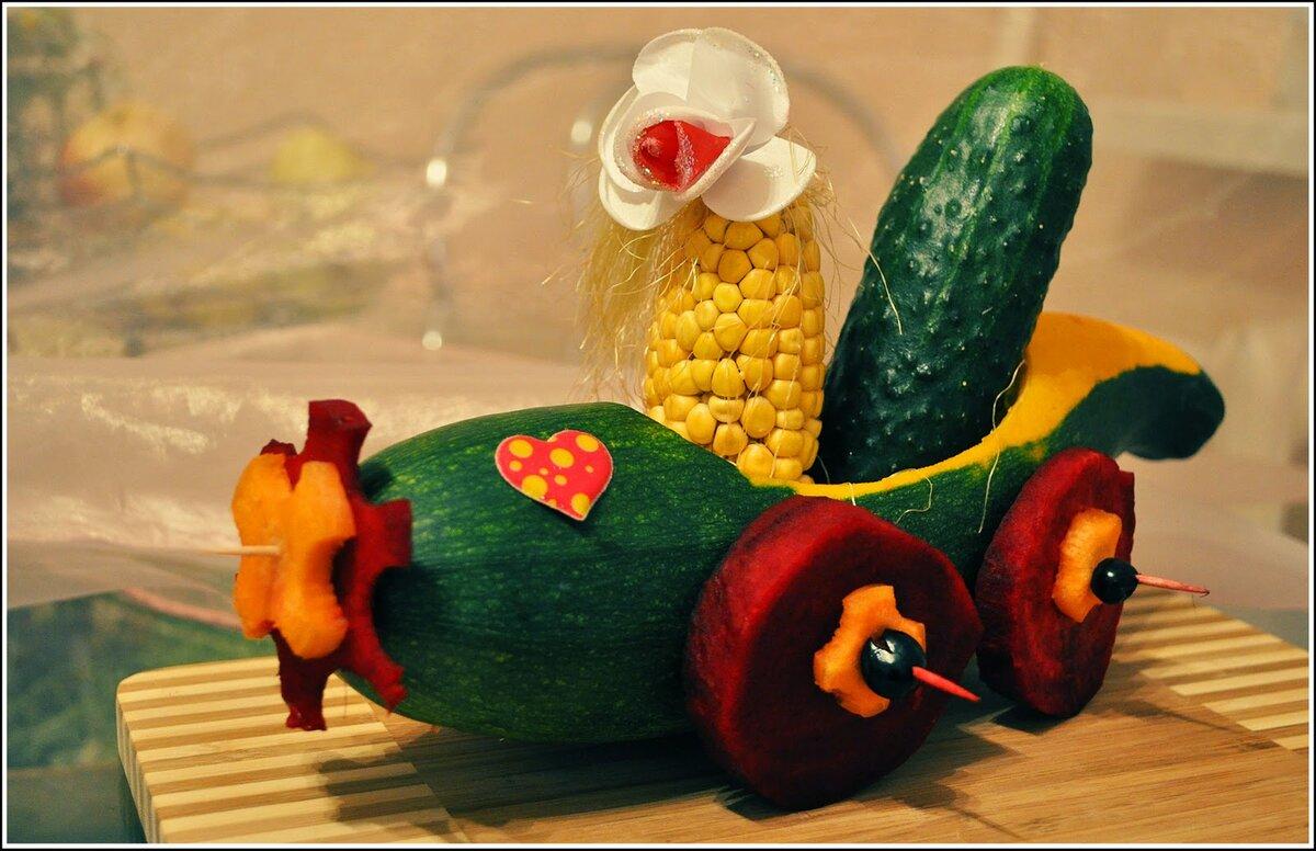 картинки поделок из овощей и фруктов на тему осенние них есть кабели