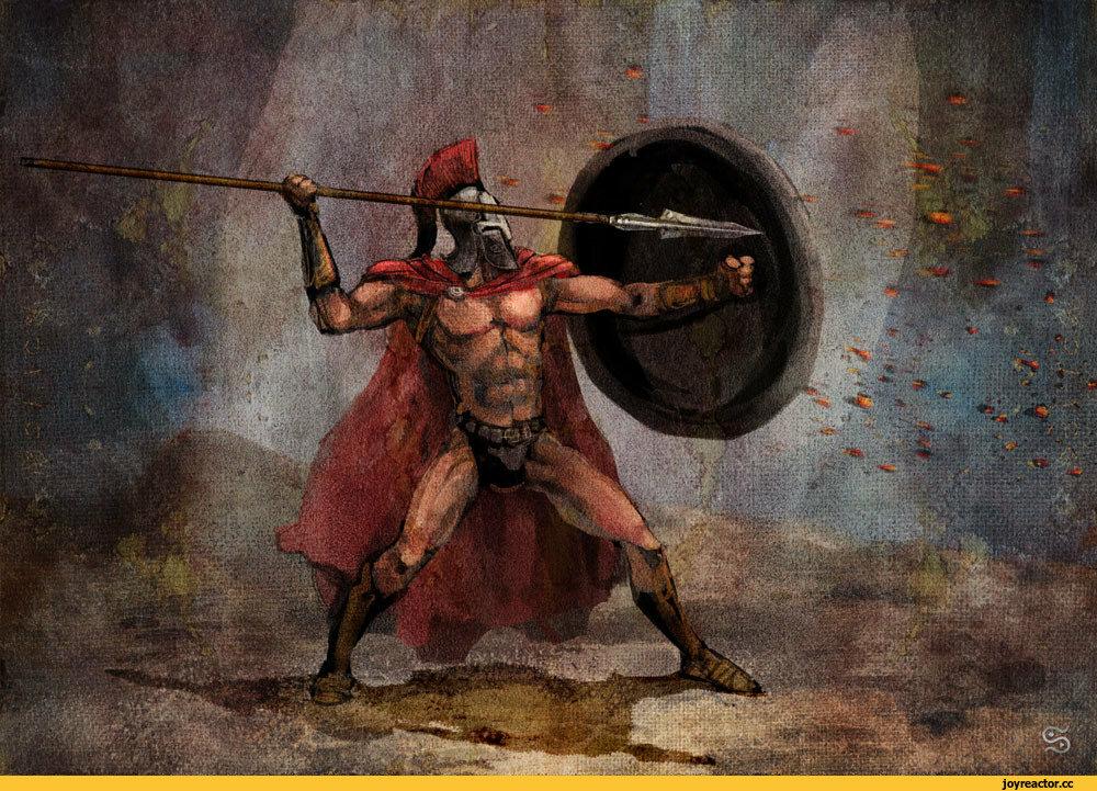воин спарты картинка на иконку