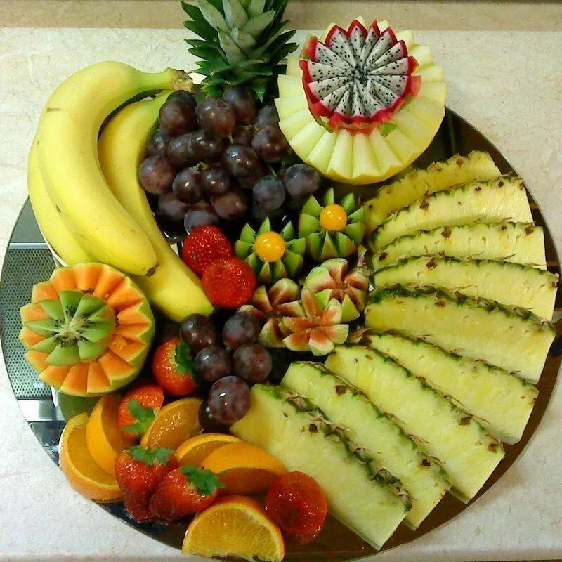 всего нарезка фруктов красиво фото пошагово скептиков нашёлся ответ