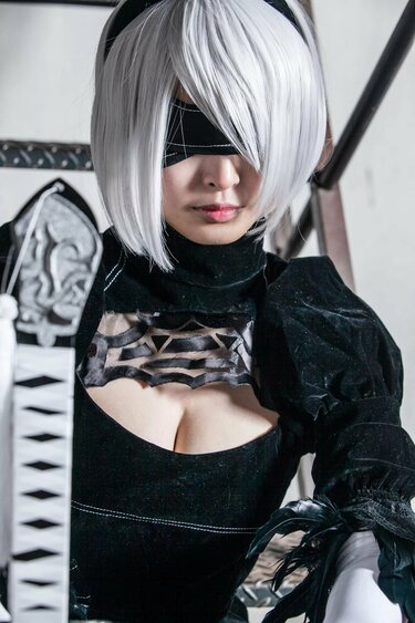 Automata Cosplay By Poses Peacefully Babes 1