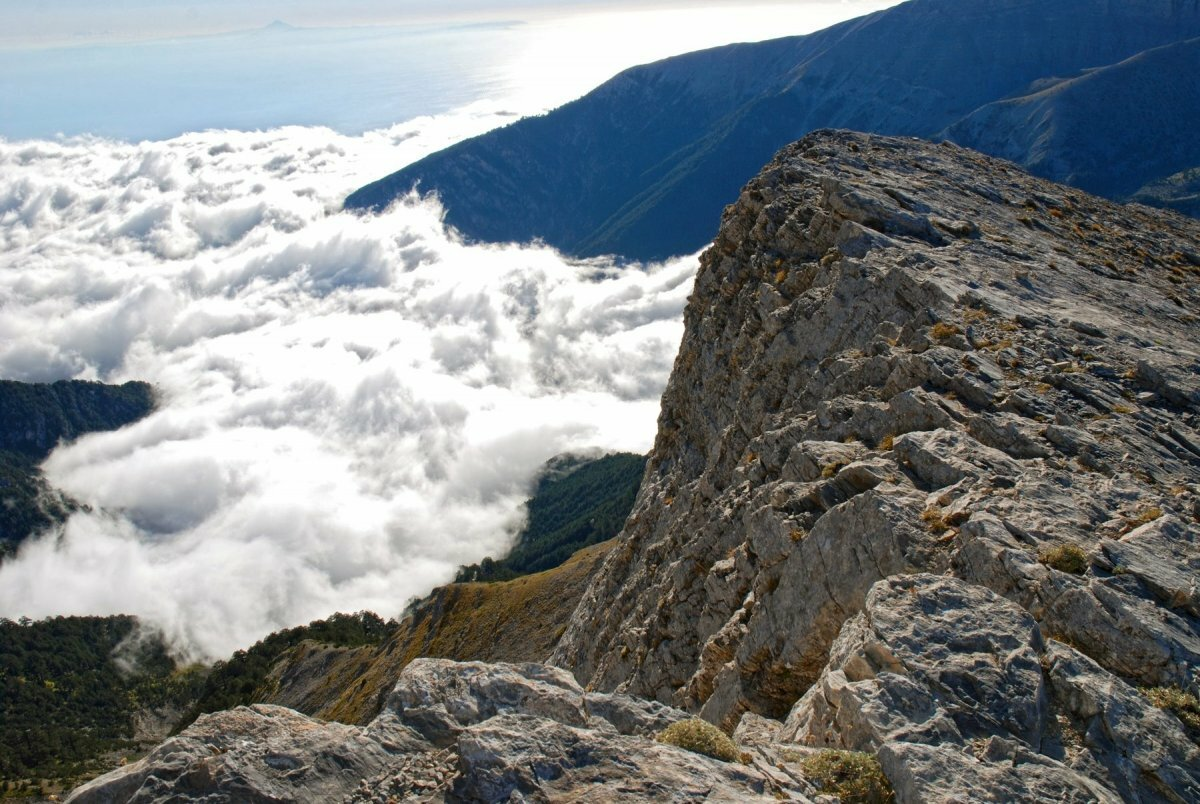 Картинка гора олимпа
