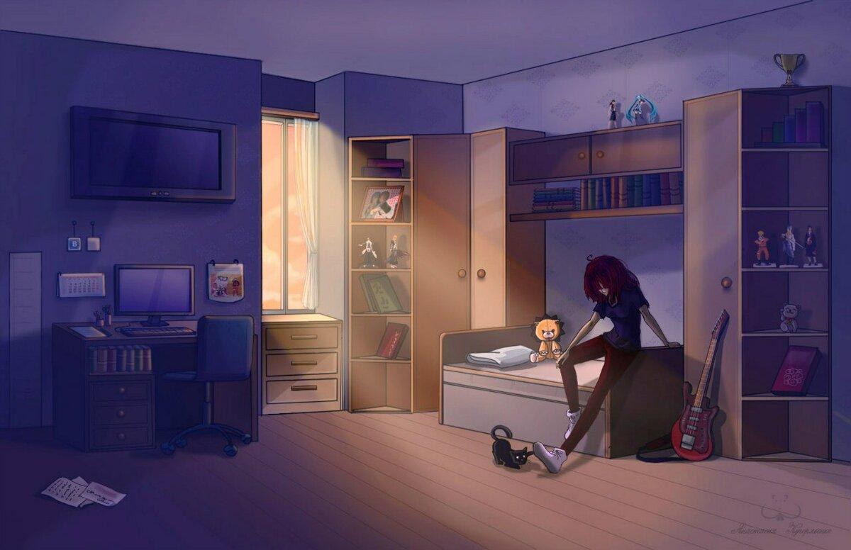 прикольные картинки комнаты