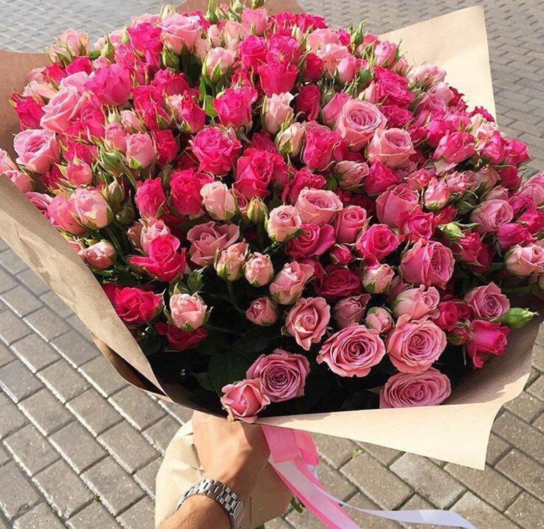 кустовые розы фото букеты красивые скалистый остров