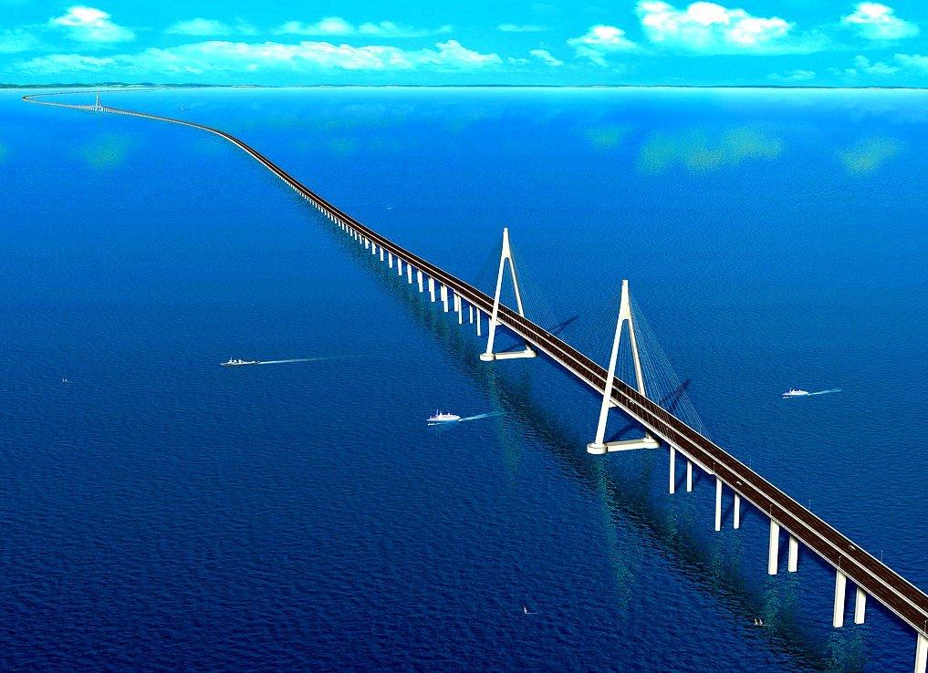 Самый длинный мост картинка