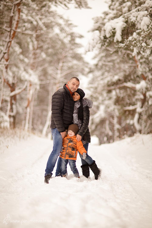 Фотосессия семьей на улице зимой идеи фото запланированный