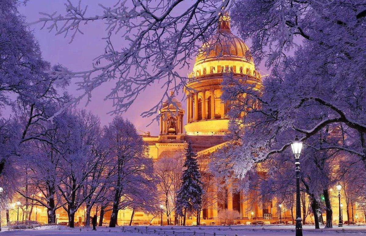 Фото для, картинки с питера зимой