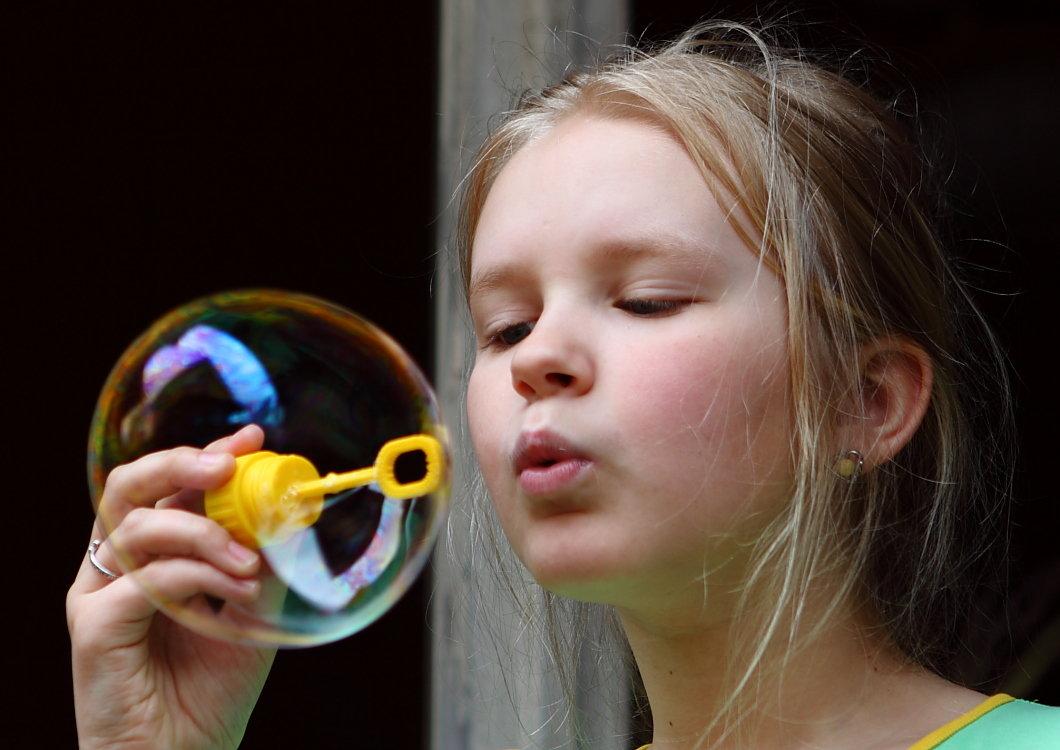 отделкой как фотографировать мыльные пузыри разбит