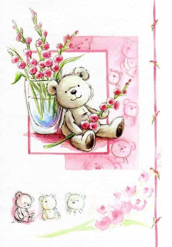 Нарисовать открытку по фото