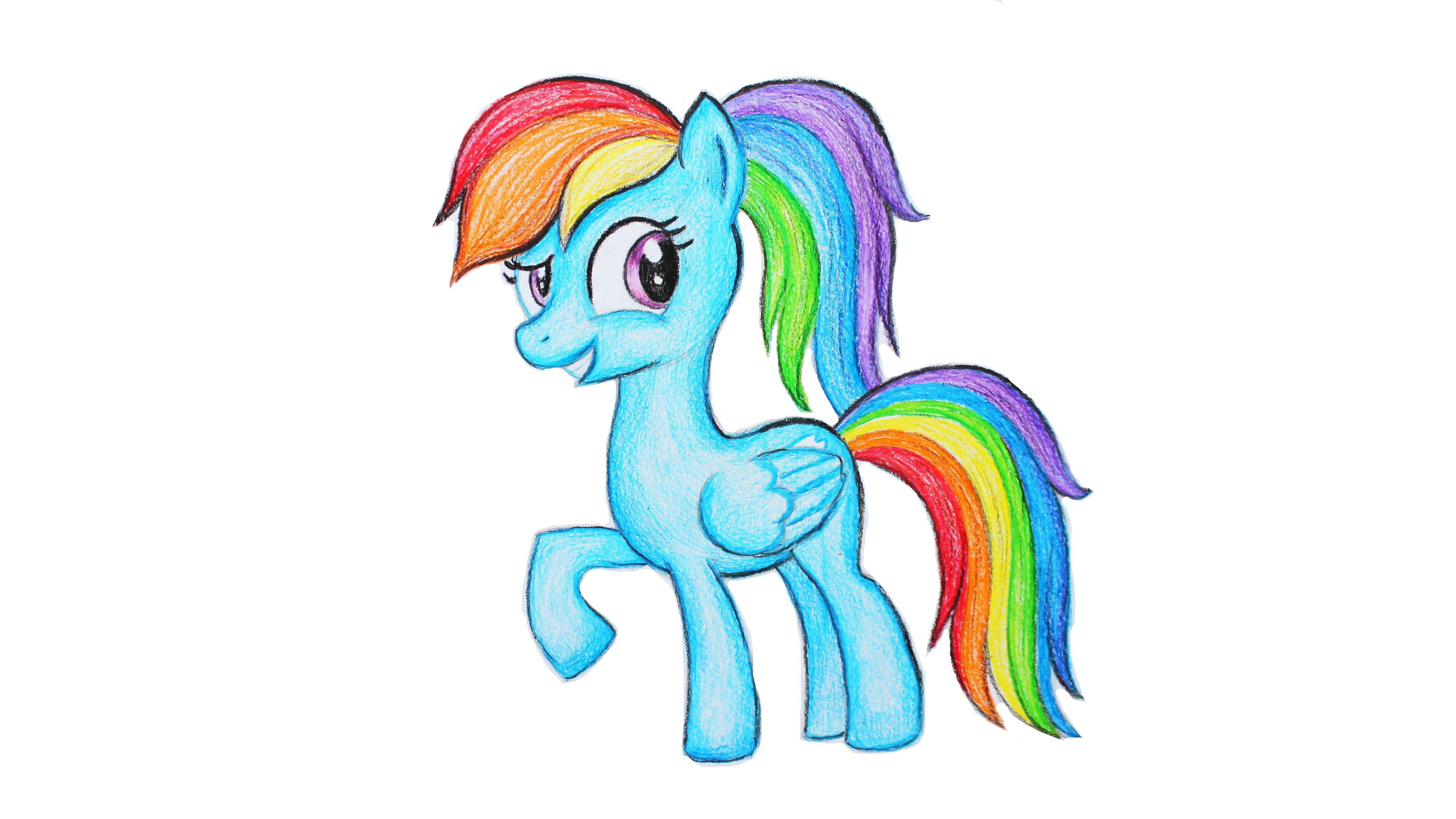 Как нарисовать пони своими руками фото 457