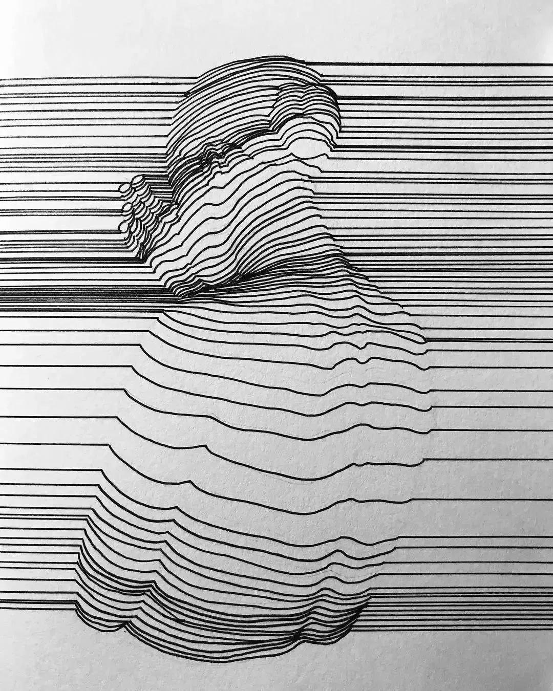Рисунки из линий на компьютере