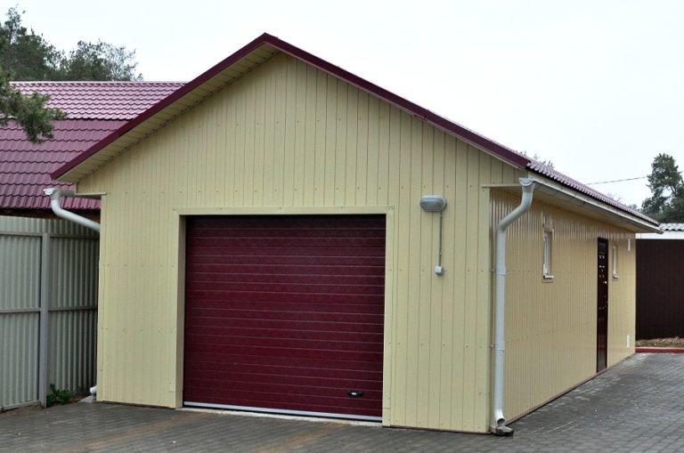 профнастил для гаража какой выбрать