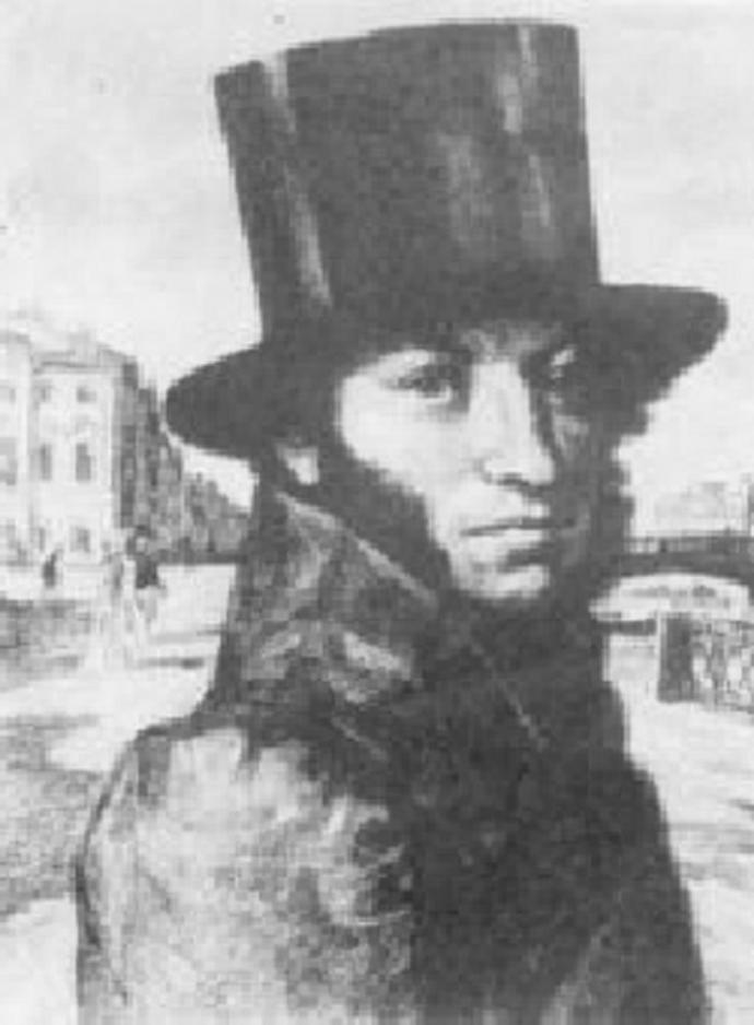 самом картинка пушкин в цилиндре приводит повышению давления