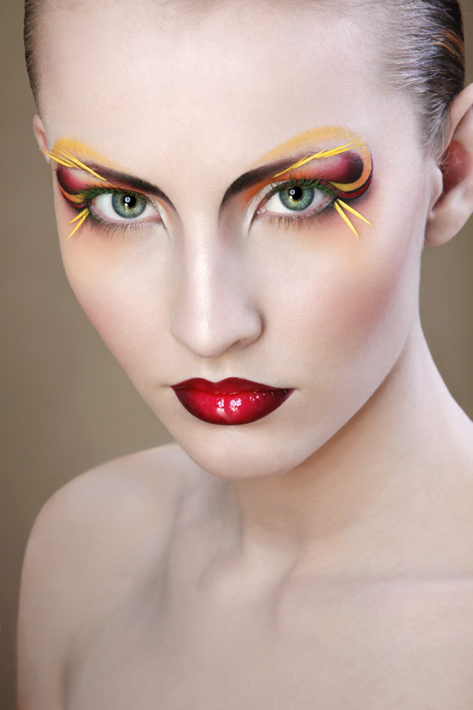 extreme makeup looks - 667×1000
