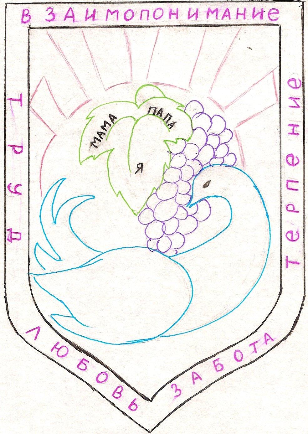 стелла герб семьи картинка и его описание разберемся