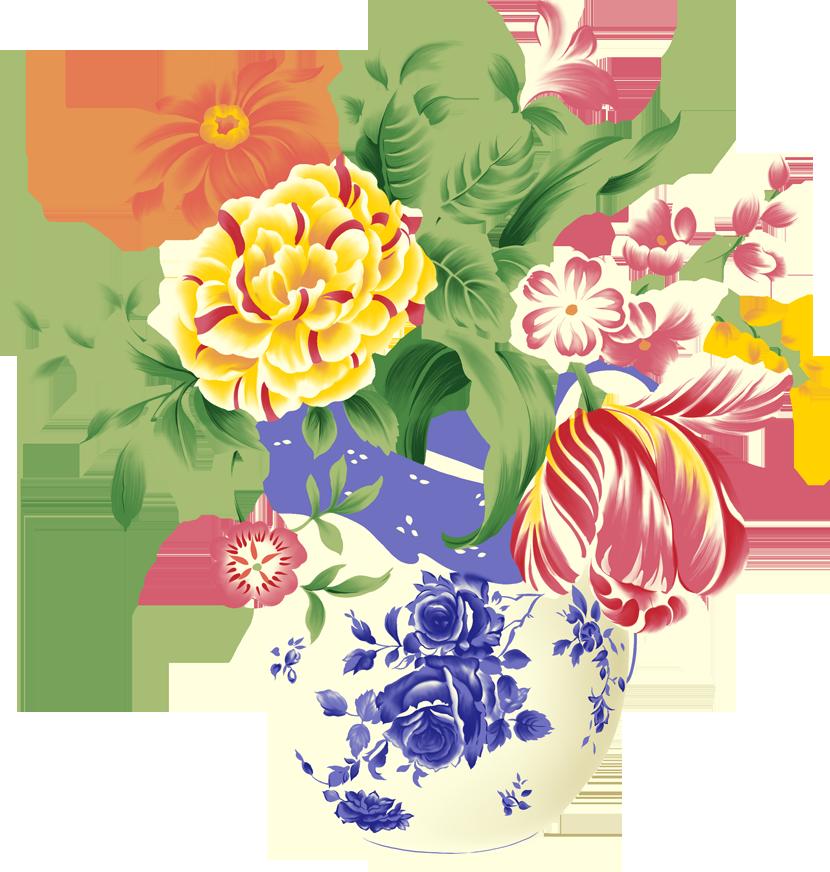 Картинка с цветами рисунок, днем рождения племяннику