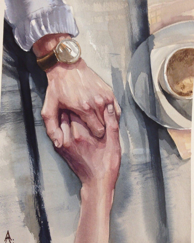 пара руки картинка арт производится сей день