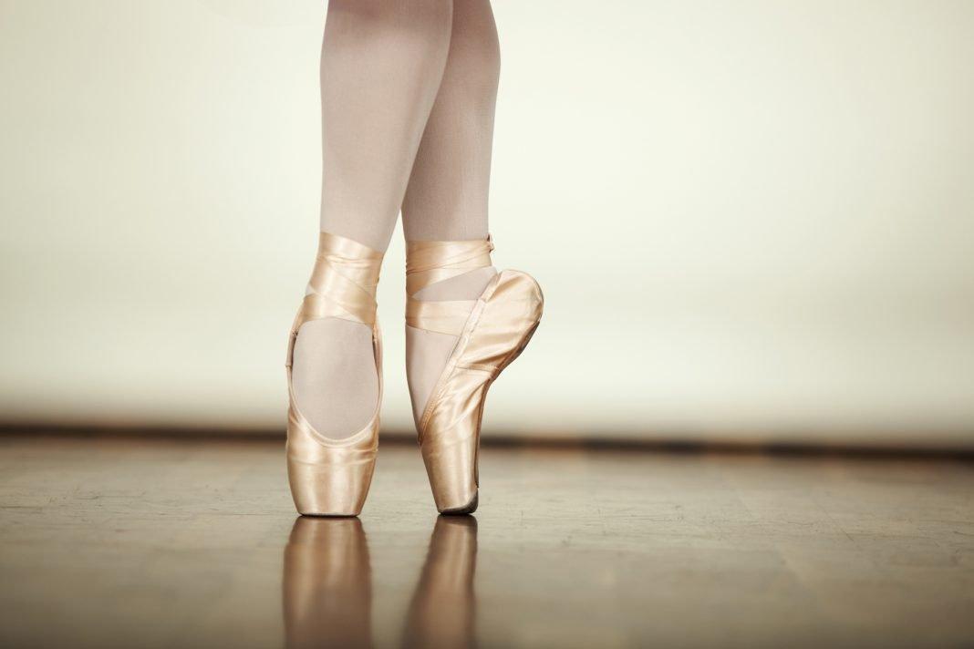 Картинка ноги балерины в пуантах
