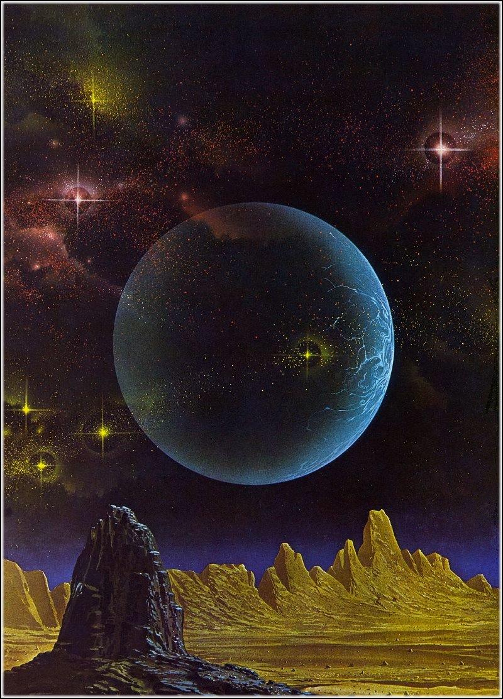 Открыток, космическая фантазия картинки