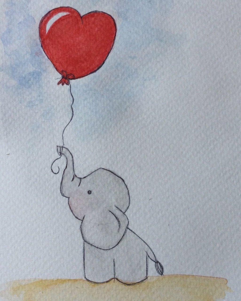 Рисунок с шариками
