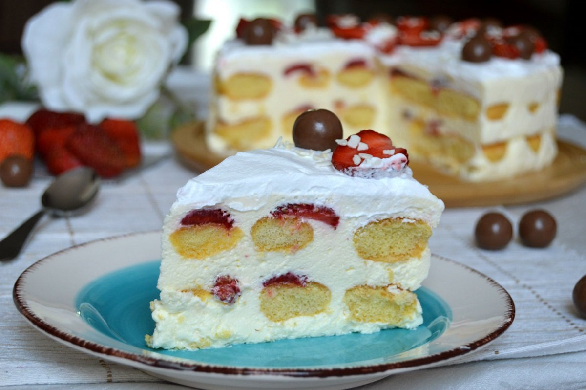 Йогуртовые торты рецепты с фото