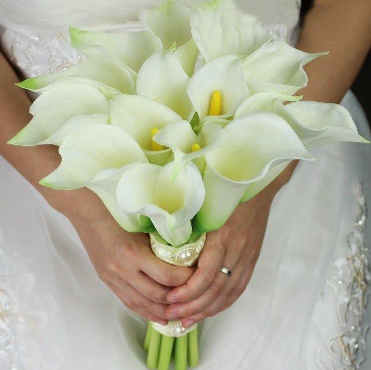 Свадебный букет из калл купить в волгограде