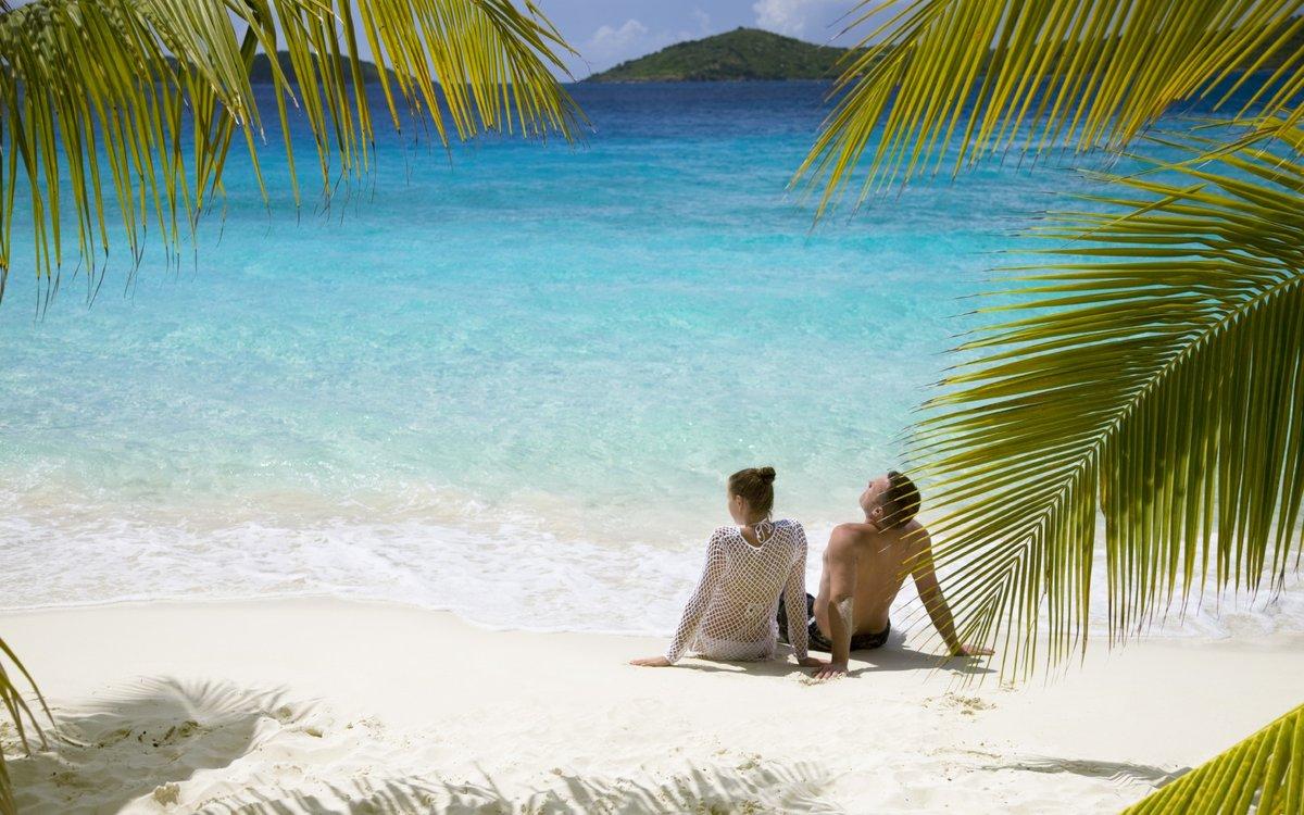 чёрная отпуск в раю картинка про