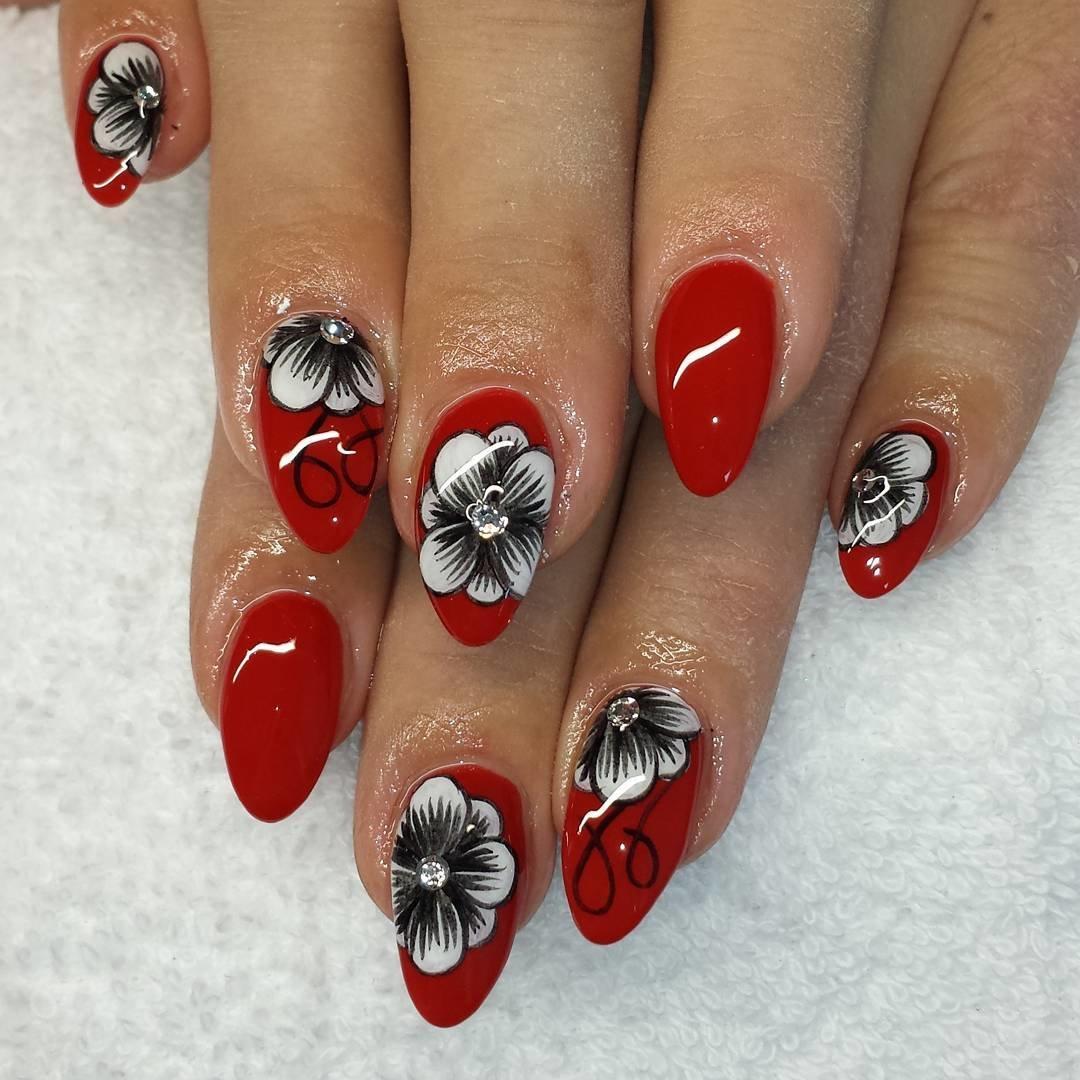 картинки красные ногти с рисунком платья бразильянок отдельных