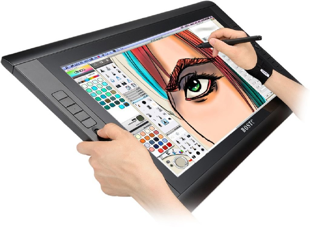 картинки рисунки на планшете человек