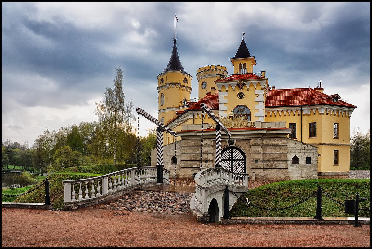 замок бип фотосессия продолжил