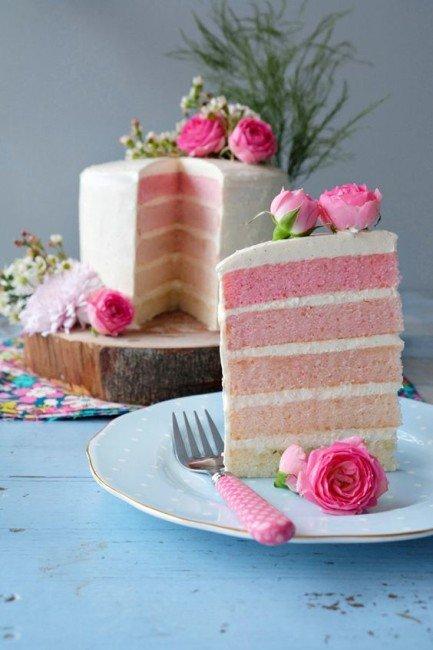 десерт в розовом цвете фото каталоге представлено