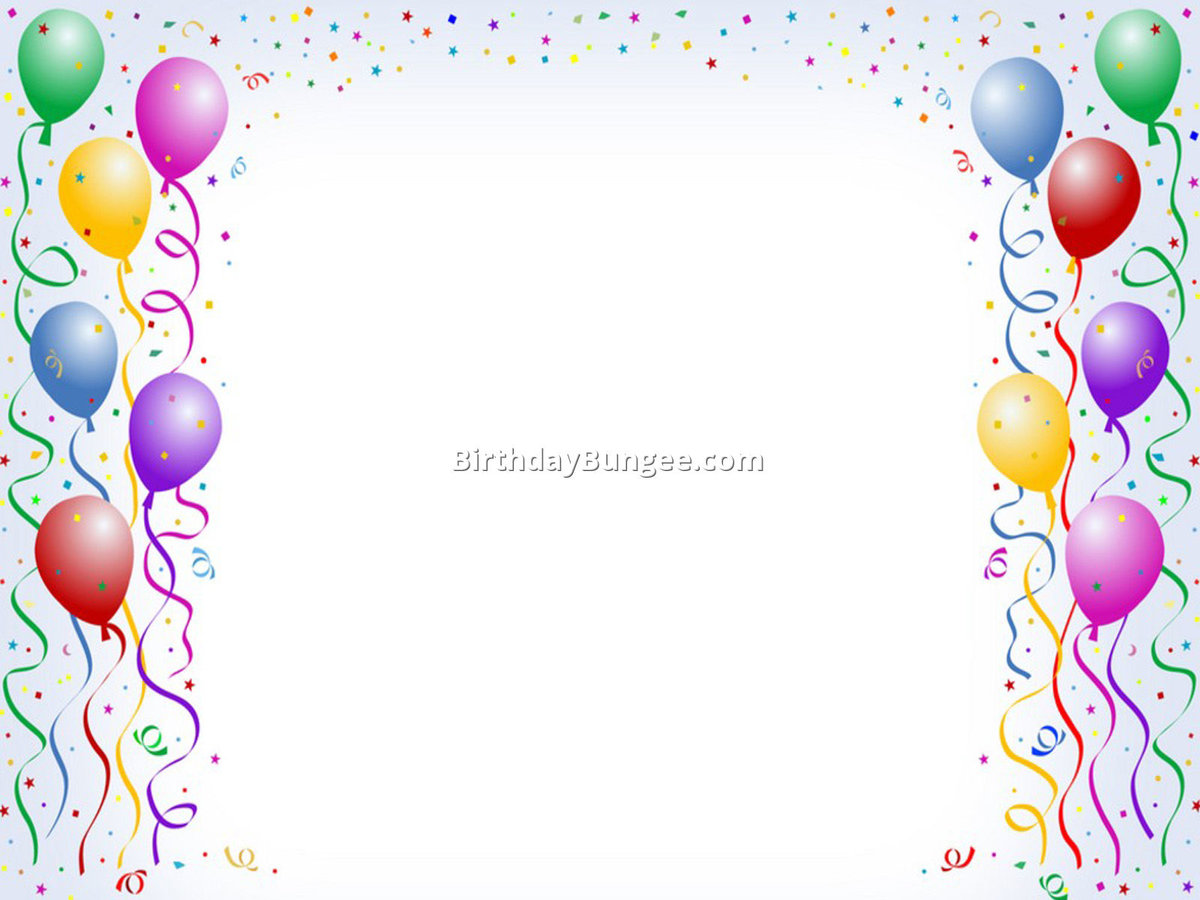 Free Birthday Frames - Cliparts.co\