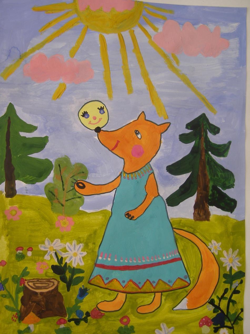 русские народные сказки рисунок на конкурс также были