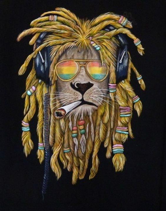 легкое картинки льва с дредами широкое лицо правильными