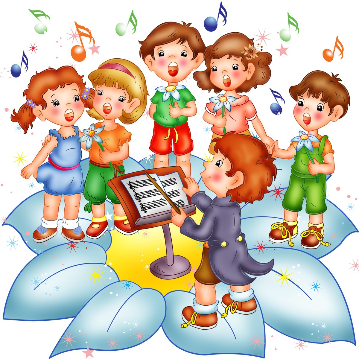 Музыкальные картинки детям