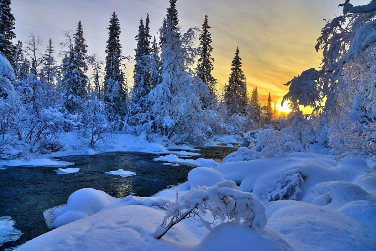 Фото зимней россии высокого качества
