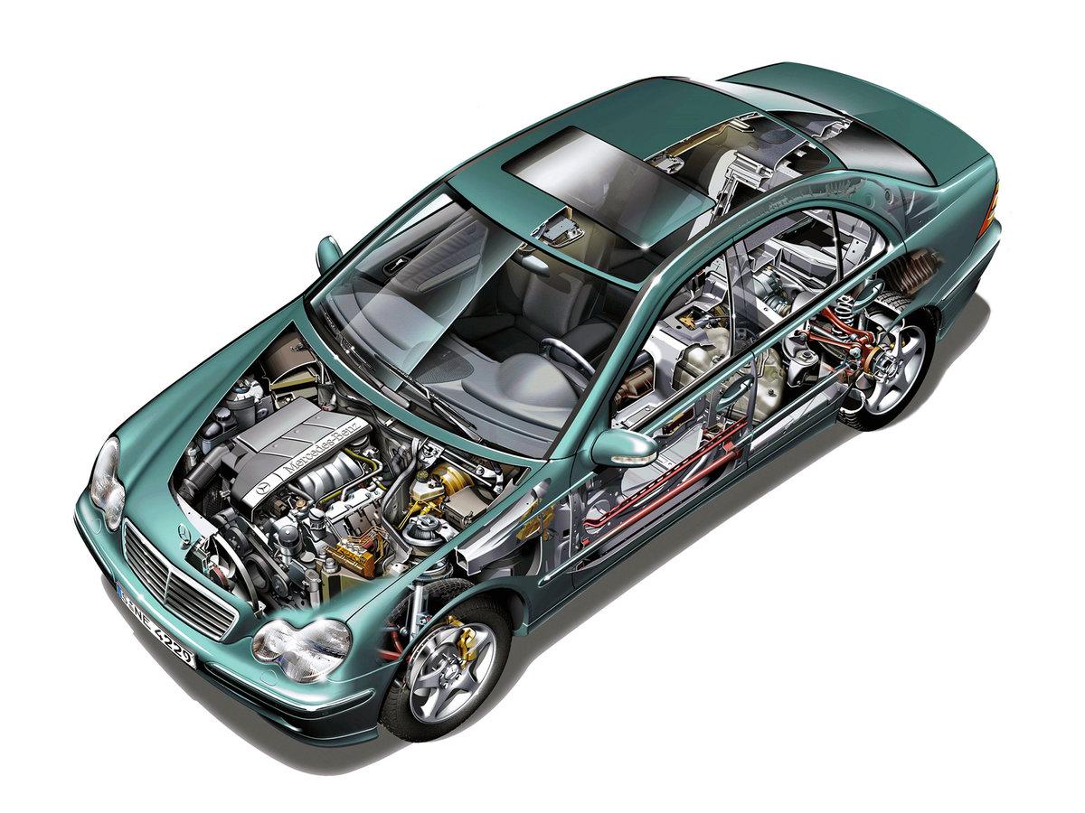 Внутренние детали автомобиля в картинках