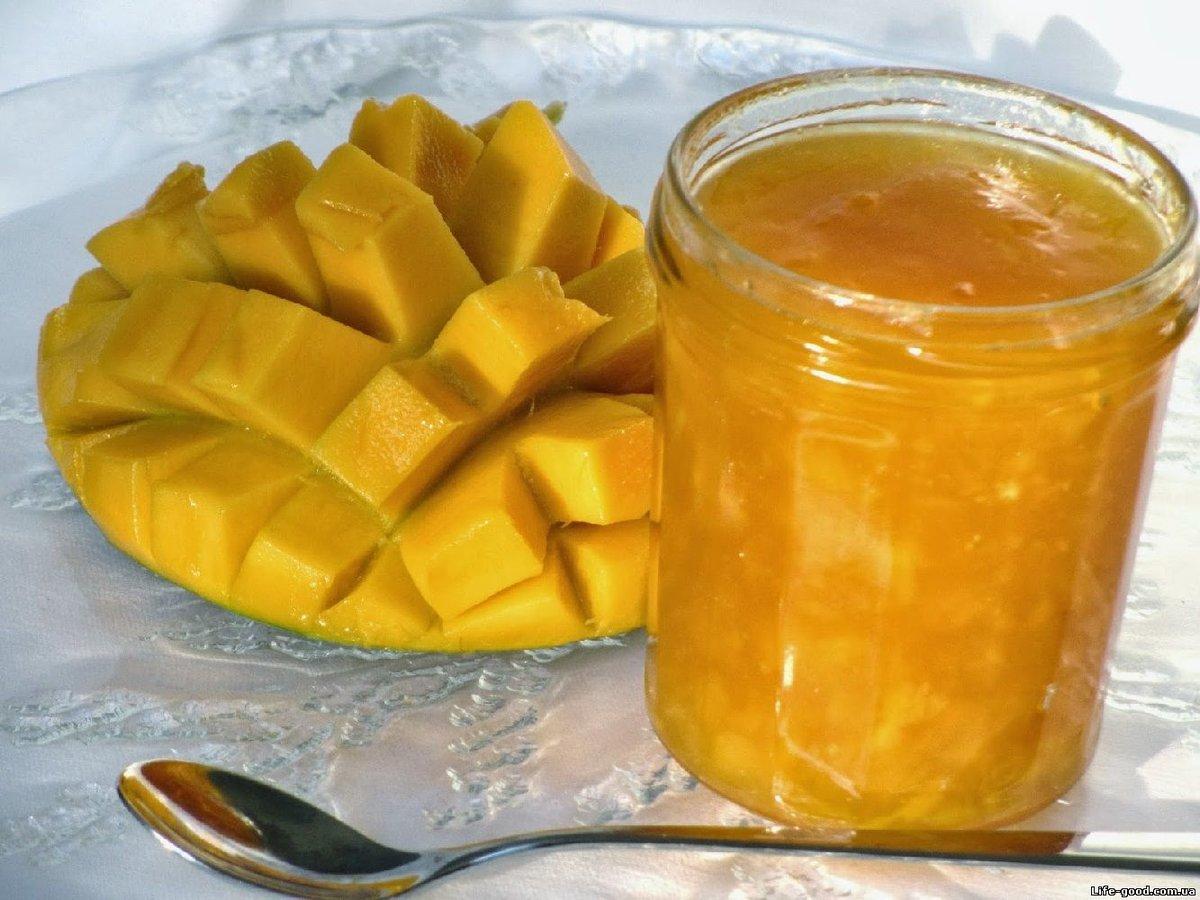 Варенье из манго рецепт с фото пошагово