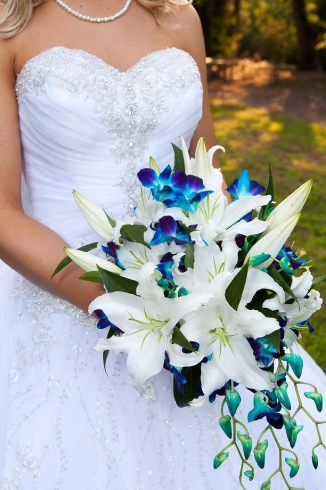 Ветки букеты, свадебный букет лилий орхидей