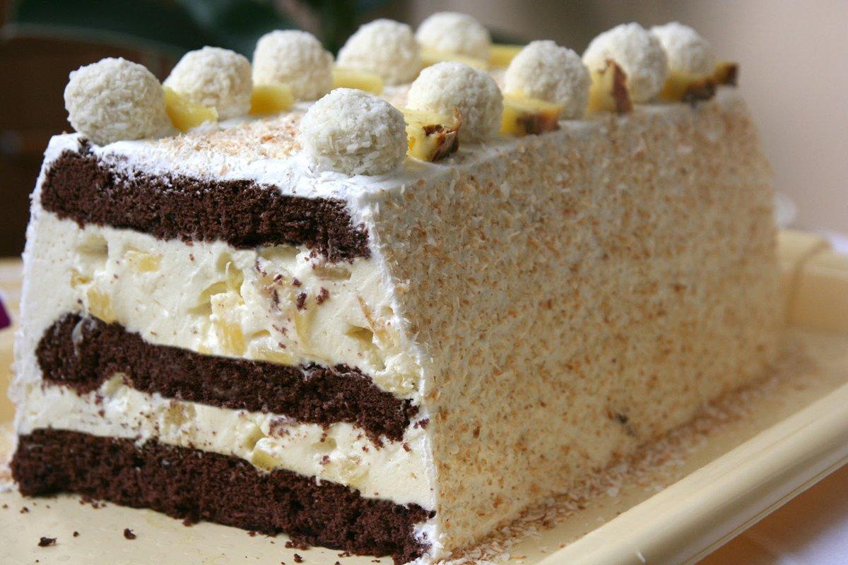 крайней самый лучший торт рецепты с фото таких листов есть