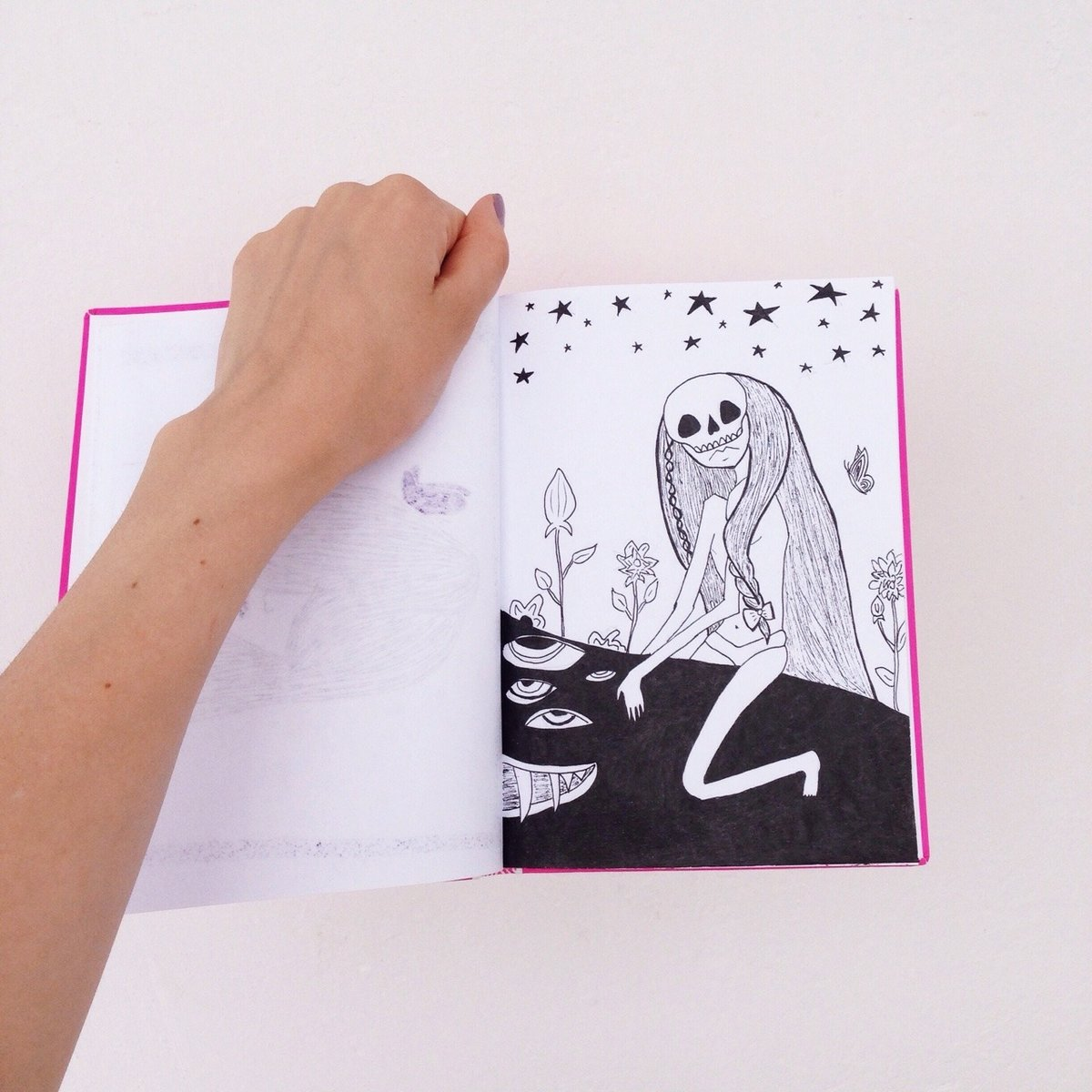 Картинки рисунок в скетчбуке