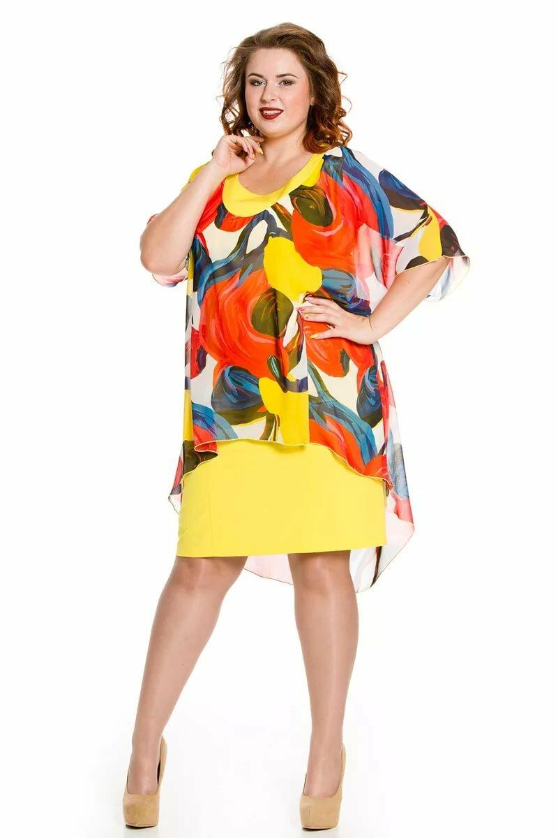 время модная одежда больших размеров на картинках для любителей