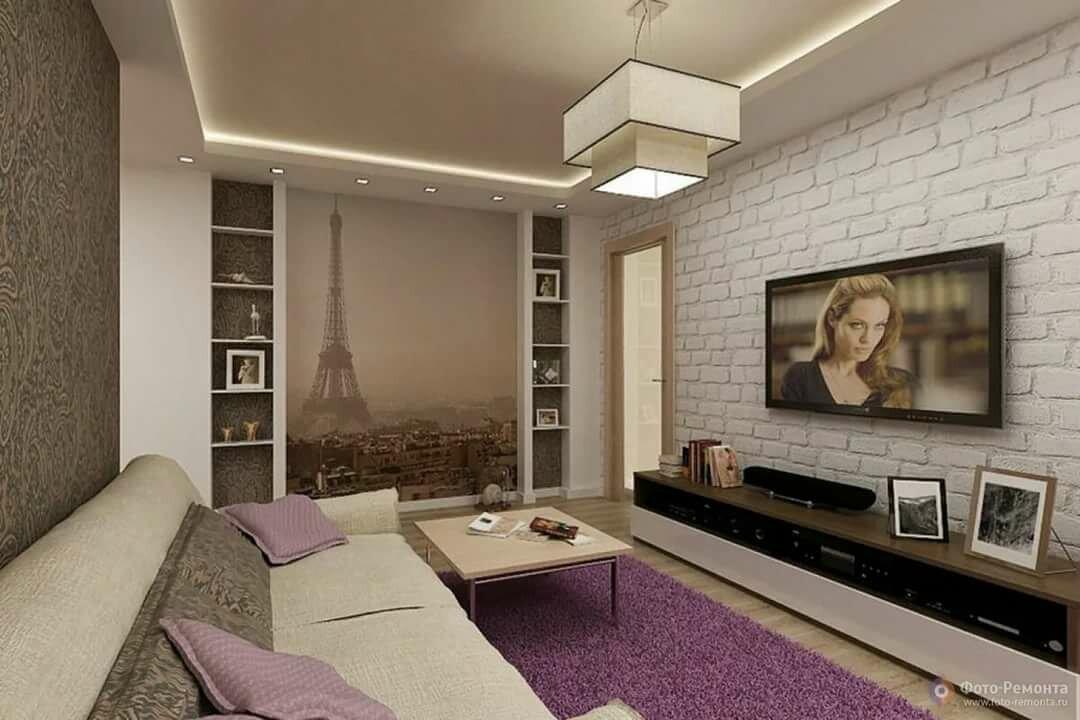 фото ремонта зала и спальни в квартире переводе английского